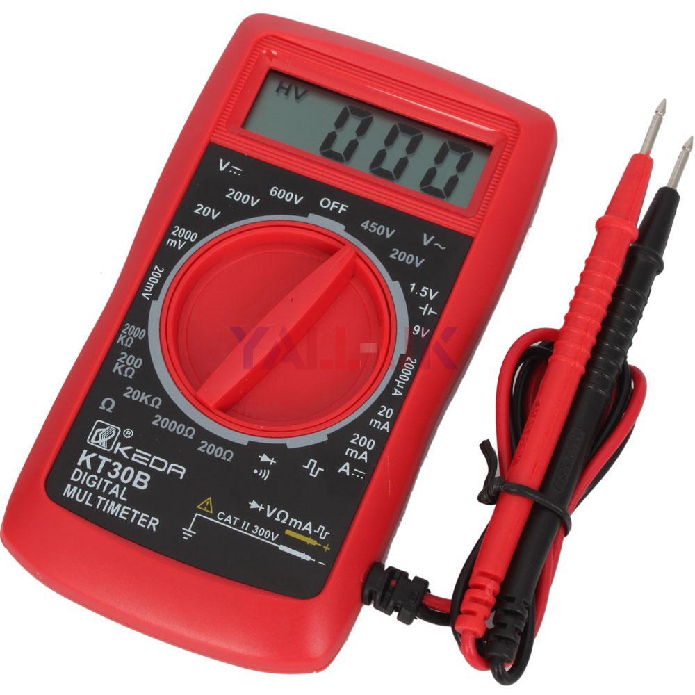 New Digital Electric Meter : New mini digital electric probe multimeter meter tester ac