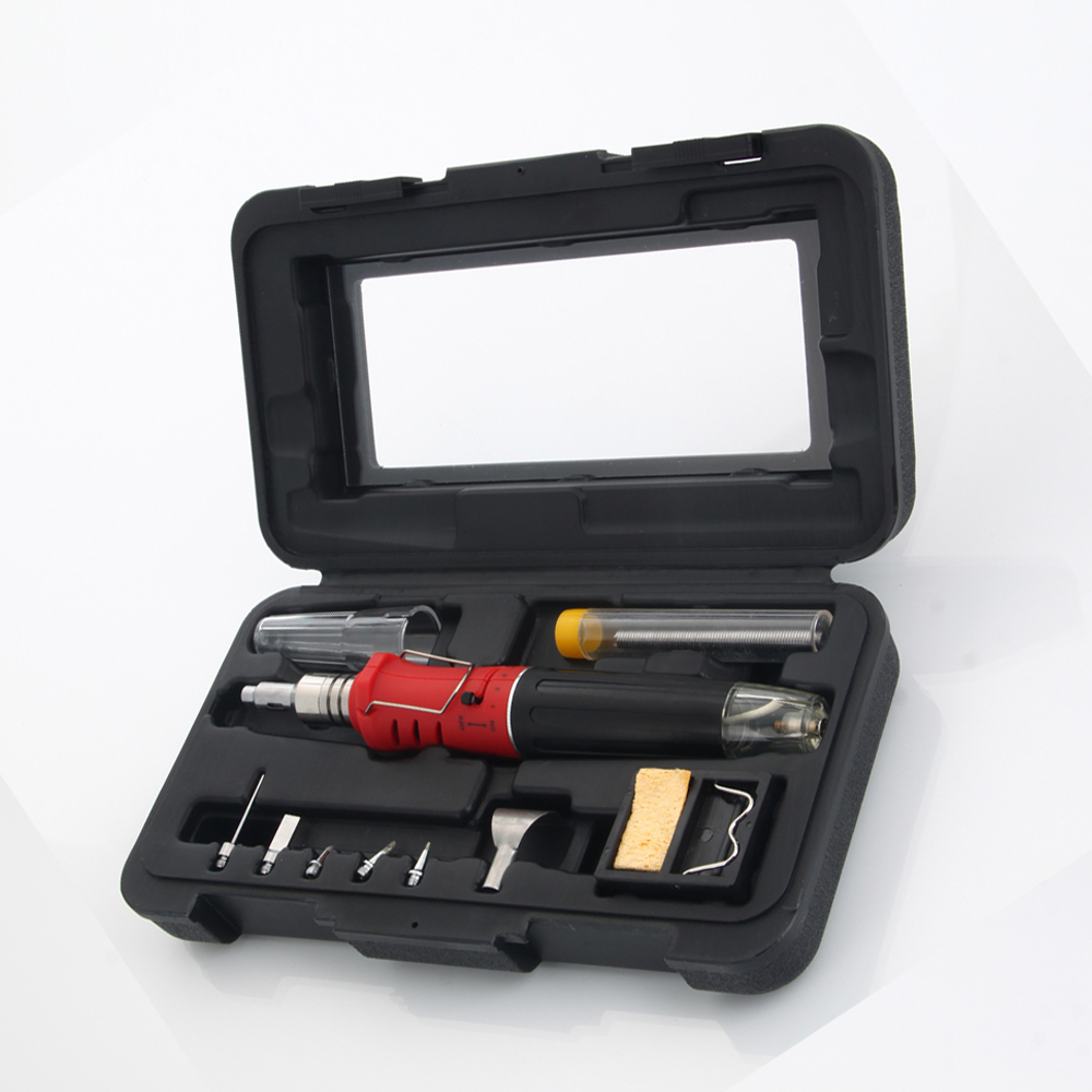 10 in 1 pen style electric lighter gas soldering iron kit with solder tips wire ebay. Black Bedroom Furniture Sets. Home Design Ideas