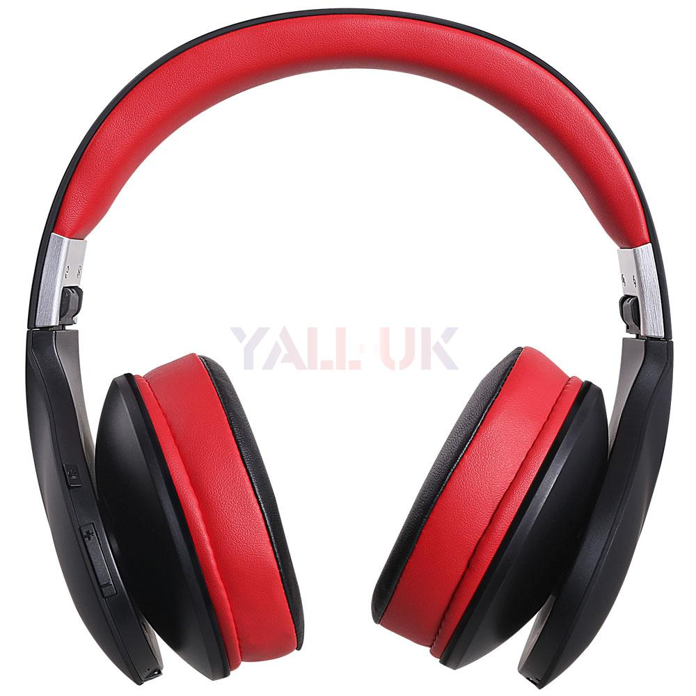 2015 ausdom ah2 bluetooth headphones over ear stereo wireless wired headsets ebay. Black Bedroom Furniture Sets. Home Design Ideas
