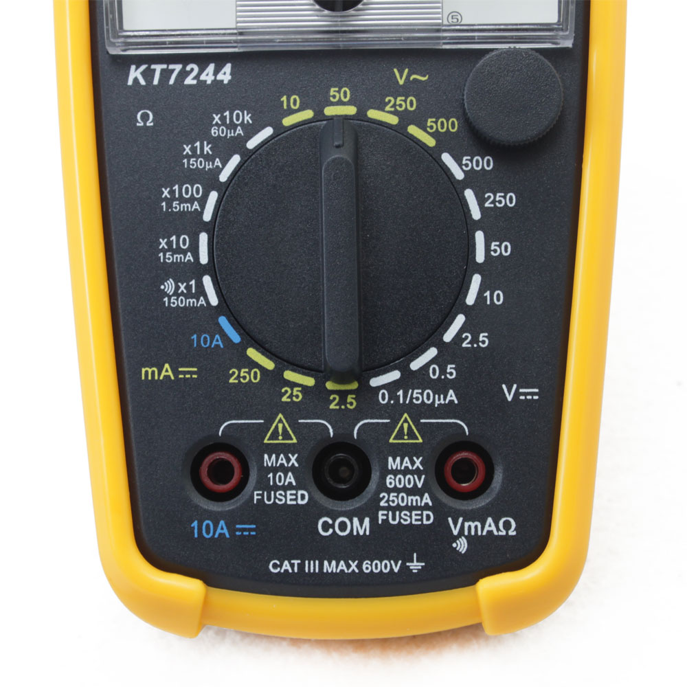 First Analog Meter : Kt pointer display analog multimeter volt meter ac dc