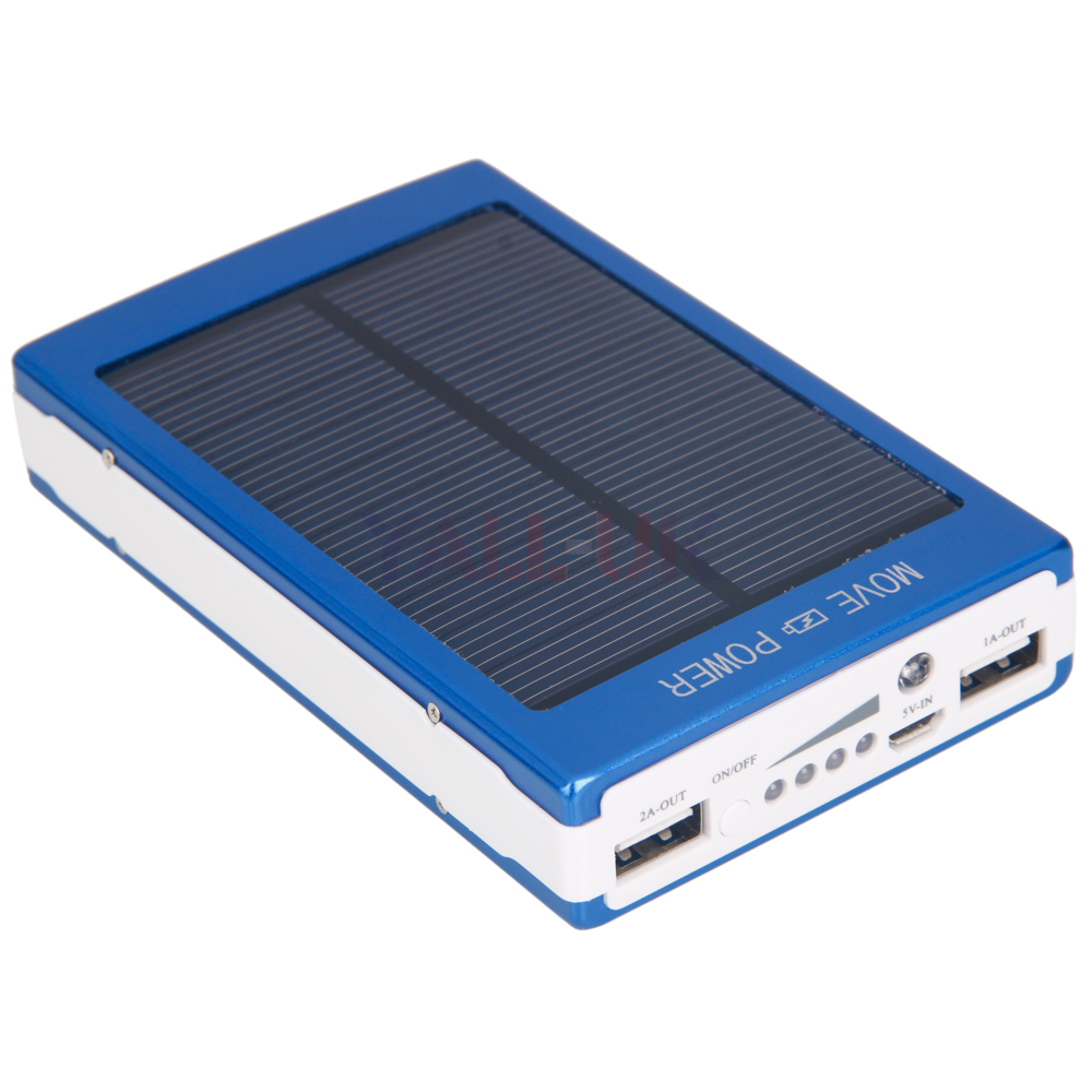 ... USB External Battery Charger Solar Power Bank for Samsung iphone 6 5 4