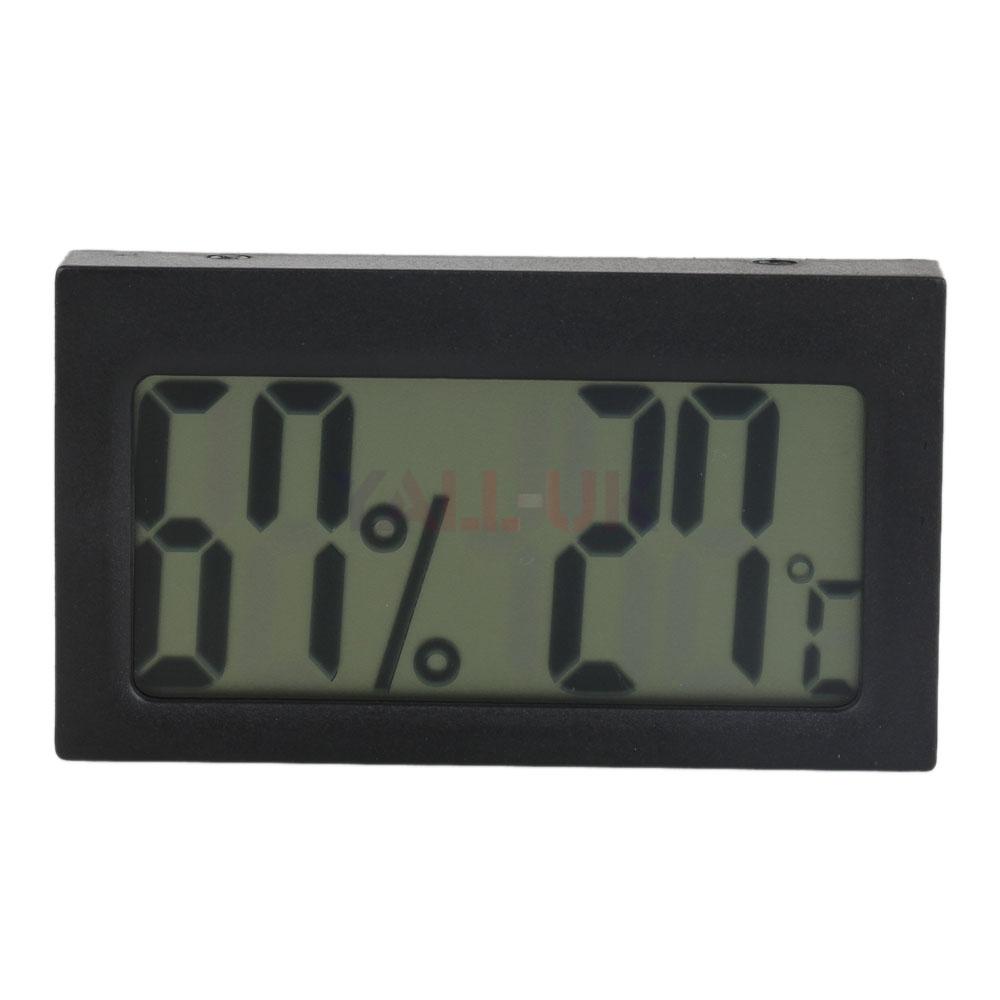 Lcd Hygrometer Digital Thermometer Meter Alarm Clock For